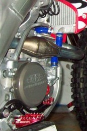 CRF450 radiator hose - Top Quility hose kits for the pros