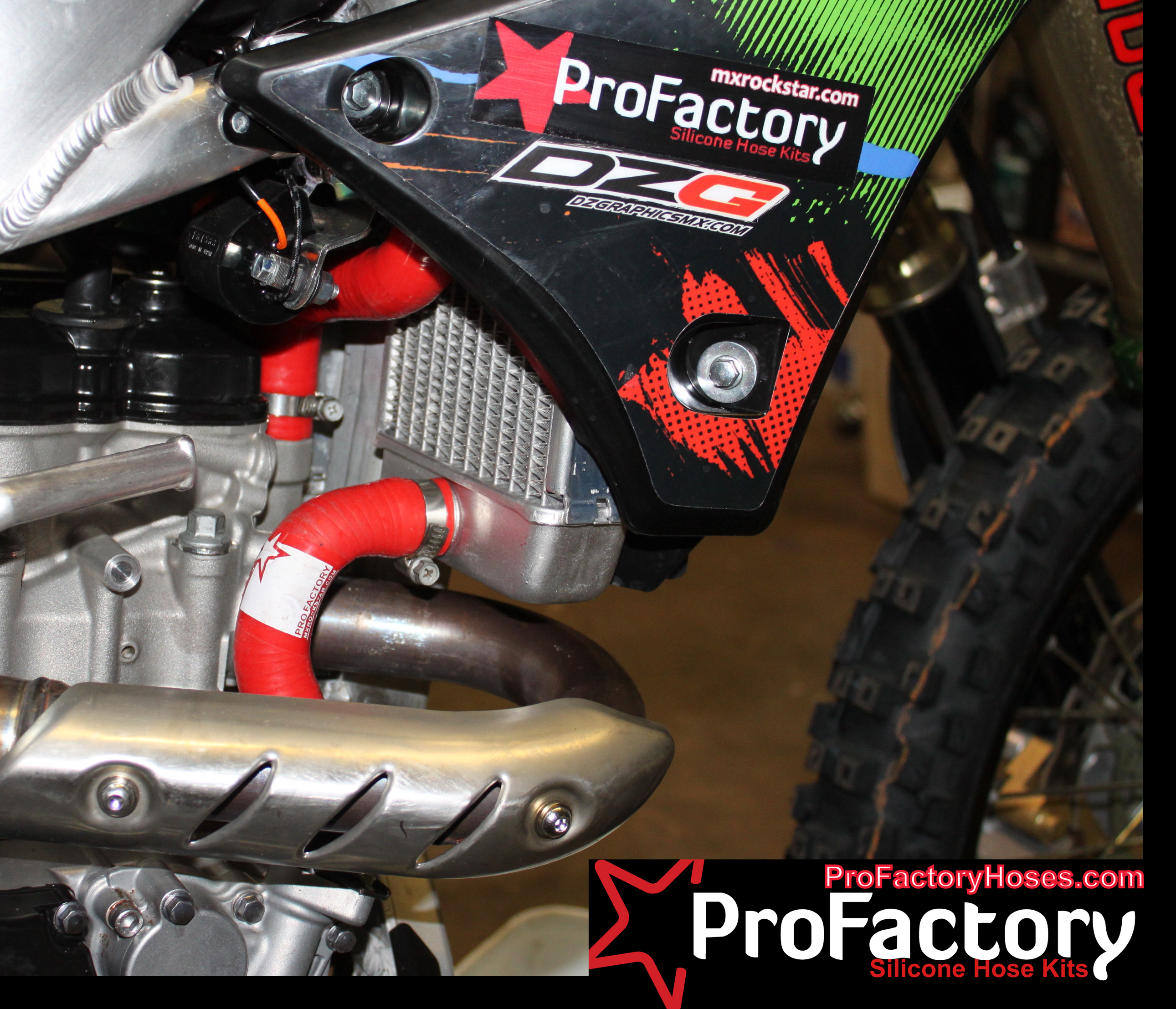 Motocross Radiator Silicone Hose Kits